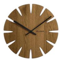 Designové dřevěné hodiny Vlaha VCT1015