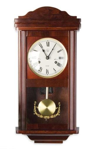 Mahagonové nástěnné kyvadlové hodiny THESEUS 60 cm