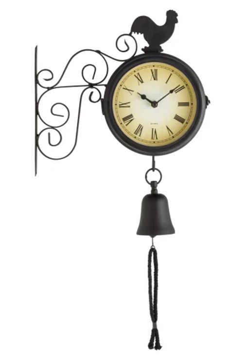 Retro venkovní nástěnné hodiny