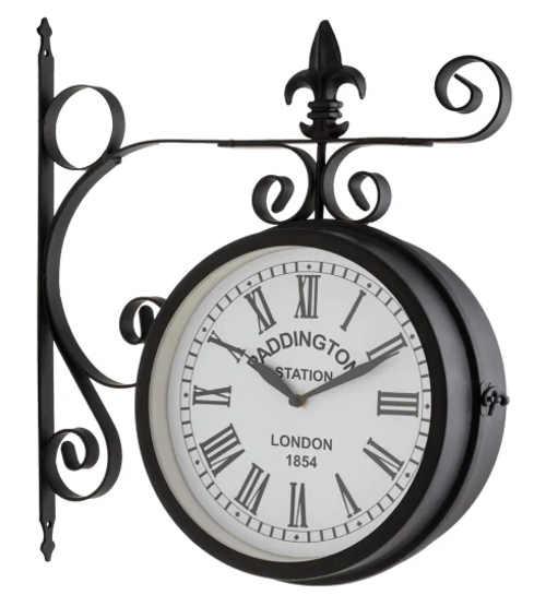 Venkovní staniční nástěnné hodiny Blumfeldt Paddington