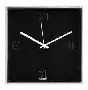 Designové čtvercové nástěnné hodiny do moderního interiéru