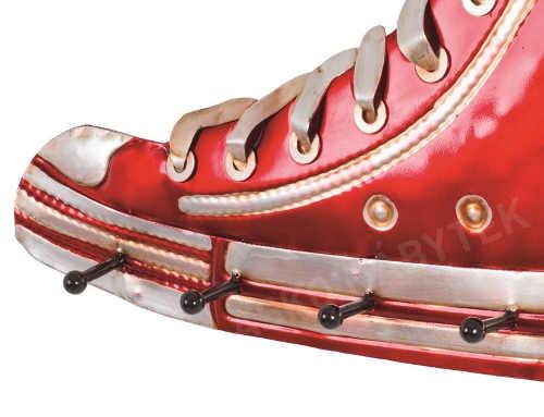 Originální věšák do chodby ve tvaru boty