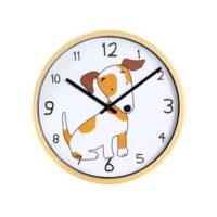 Dětské nástěnné hodiny s obrázkem psa či slona