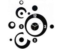 Nalepovací 3D hodiny v jedinečném designu