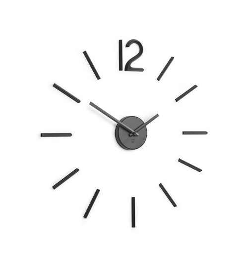 Nalepovací nástěnné hodiny s tichým chodem