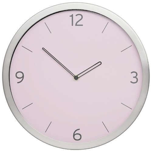 hodiny na zeď v působivé barevné kombinaci