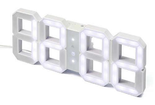 Designové digitální nástěnné hodiny Kibardin Clock