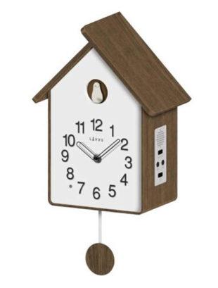 Moderní dřevěné kukačkové hodiny