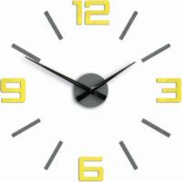 3D nalepovací hodiny v minimalistickém designu