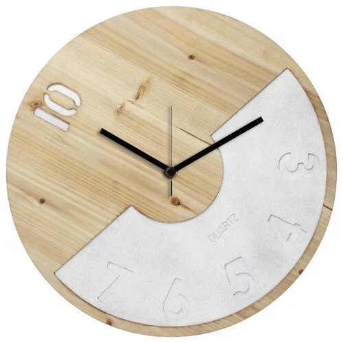 Dřevěné hodiny v originálním zpracování