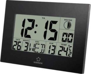 Nástěnné digitální hodiny s praktickými funkcemi