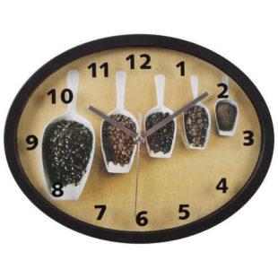 Nástěnné hodiny pro milovníky kávy