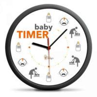 Originální a vtipné hodiny pro novopečené rodiče