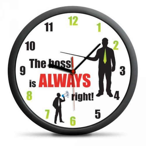 hodiny vhodné do kanceláře