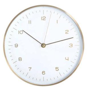 Jednoduché nástěnné hodiny TORO 24,8 cm