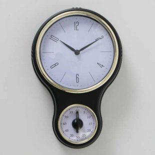 Kuchyňské hodiny s praktickou minutkou
