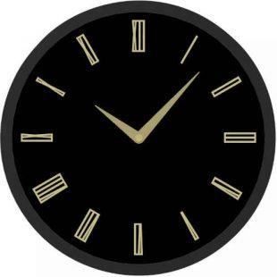 Kulaté hodiny s římskými číslicemi