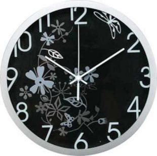 Módní nástěnné analogové hodiny