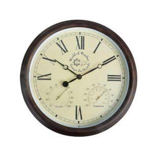 Venkovní nástěnné hodiny s římskými číslicemi